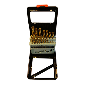19Pcs HSS Drills Set