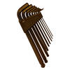 9Pcs Medium Arm Hex Key with Ball End